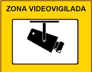 Vivimos todos en un gran gran hermano security art work - Cartel de videovigilancia ...