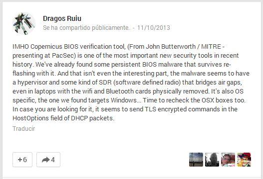 badBIOS - Security Art Work