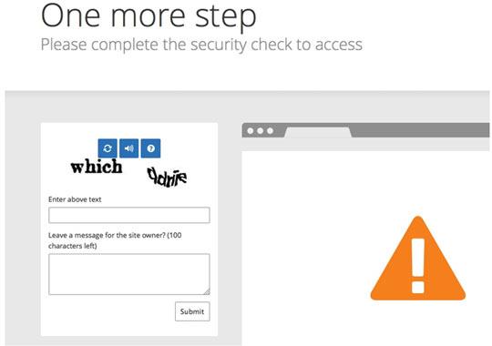 Evadiendo por la via rápida el challenge de CloudFlare for