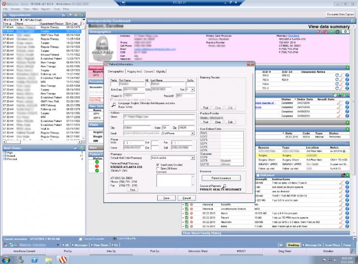 Ilustración 1. Interfaz del sistema atacado